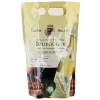 VAUCHER Chardonnay Vin de Bourgogne - Blanc - Vieilli en fût de Chêne - 2 l