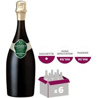 Gosset Gd Mill.  2006 Champagne x6