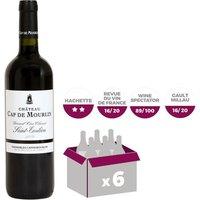 Château Cap de Mourlin Saint-Emilion Grand Cru Classé 2009 - Vin rouge x6