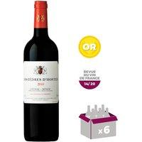 Les Cèdres d'Hosten Listrac Médoc 2010 - Vin rouge