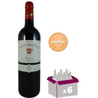 CHÂTEAU PIQUE SEGUE 2015 Bergerac Vin du Sud Ouest - Rouge - 75 cl - AOC x 6