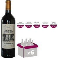 Château Faurie de Souchard Saint-Emilion Grand Cru Classé 2010 - Vin rouge x6