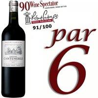 Château Cantemerle Haut Médoc 2011 - Vin rouge x6