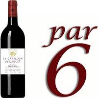 Carillon de Rouget Pomerol 2011 - Vin rouge x6