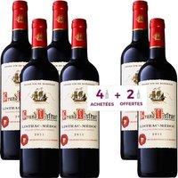Grand Listrac AOP Listrac Médoc 2011 - Vin rouge