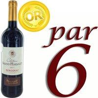 Château Grand Marsalet 2011 Bergerac vin rouge x6