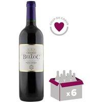 Château Belloc 2012 Pessac Léognan Vin rouge de Bordeaux