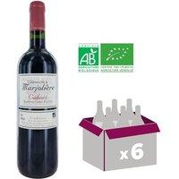 Château de la Marjolière AOC Cahors Bio 2012 - Vin rouge
