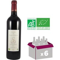 DOMAINE DU CAUSSE D'ARBORAS 2012 Vin Bio du Coteaux du Languedoc - Rouge - 75 cl - AOP x6