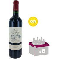 Carton de 6 bouteilles de CHÂTEAU LA VALLÉE MONTAGNE 2012 Saint Emilion Vin de bordeaux - Rouge - 75 cl x6