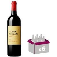 Frank Phelan Saint Estèphe Grand Vin de Bordeaux 2012 - Vin rouge