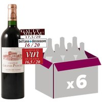 Château Grand Pontet Saint-Emilion Grand Cru 2012 - Vin rouge