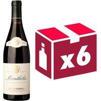 Jean Bouchard Monthelie 2012 - Vin rouge x6