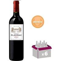 Château Plagnac Médoc 2012 - Vin rouge
