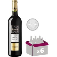 SAINTE BARBE 2012 Merlot Vin de Bordeaux - Rouge - 75 cl - AOC x 6