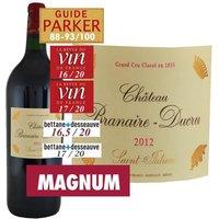 Magnum Château Branaire Ducru 2012 Saint-Julien - Vin rouge de Bordeaux