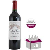 CHÂTEAU CANON 2013 St Émilion Grand Cru Vin de Bordeaux - Rouge - 75 cl x 6