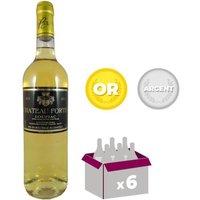 CHÂTEAU FORTIN 2013 Loupiac Vin de Bordeaux - Blanc - 75 cl -AOC x 6