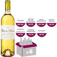 Château Climens Barsac de Sauternes 1er Grand Cru Classé 2013 - Vin blanc liquoreux