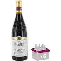 Côtes du Rhône Villages Vallée du Rhône - Vin rouge - Club des Sommeliers - 75 cl x6