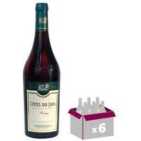 FRUITIERE VINICOLE DE PUPILLIN 2013 Côtes du Jura - Rouge - 0,75 l x6