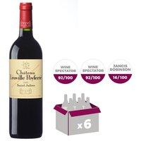 Château Leoville Poyferré Saint Julien Grand Vin de Bordeaux 2013 - Vin rouge