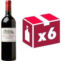 Château Mazeyres Pomerol 2013 - Vin rouge x6