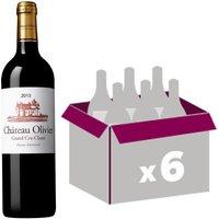 Château Olivier Pessac Léognan Cru Classé de Graves 2013 - Vin rouge