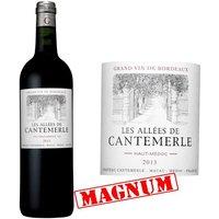 Magnum Les Allées de Cantemerle 2013 Haut Médoc Grand Cru - Vin rouge de Bordeaux
