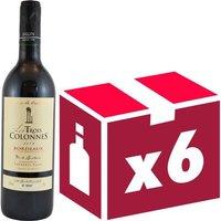 Trois Colonnes 2014 Bordeaux vin rouge x6