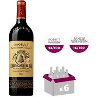 CHÂTEAU ANGELUS 2014 St Émilion Grand Cru Vin de Bordeaux - Rouge - 75 cl x 6