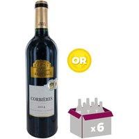 CHÂTEAU AUZOLLE 2014 Corbières - Vin de Languedoc Roussillon - Rouge - 75cl x6