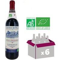 Château de Prade AOC Castillon côtes de Bordeaux Bio 2014 - Vin rouge Bio