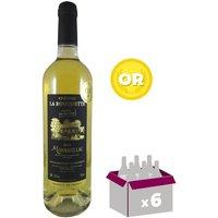 CHÂTEAU LA ROUQUETTE 2014 Montbazillac Vin du Sud Ouest - Blanc - 75 cl - AOC x 6
