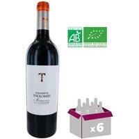 Domaine De Tholomies Bio Minervois La Liviniere AOP 2015 - Vin rouge x6