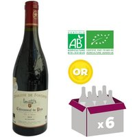 FONTAVIN 2014 Cuvée Terre d'Ancêtres Châteauneuf du Pape Vin de la Vallée du Rhone - Rouge - BIO - 75 cl x6