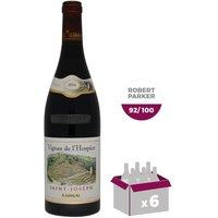 E. Guigal Vignes de l'Hospice 2014 Saint-Joseph - Vin rouge du Vallée du Rhône