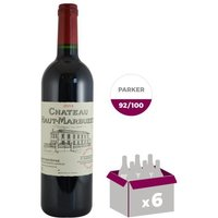 CHÂTEAU HAUT MARBUZET 2014 Saint Estèphe Grand Cru Classé de Bordeaux - Rouge - 75 cl x 6