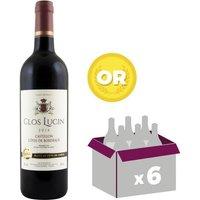 Clos Lucin AOC Castillon Cotes de Bordeaux 2014 - Vin rouge