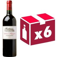 Château Mazeyres Pomerol 2014 - Vin rouge x6