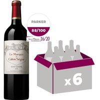 Marquis de Calon Ségur Saint-Estèphe 2014 - Vin rouge