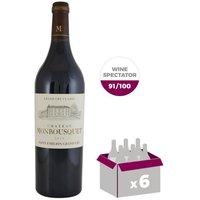 CHÂTEAU MONBOUSQUET 2014 St Émilion Grand Cru Vin de Bordeaux - Rouge - 75 cl x 6