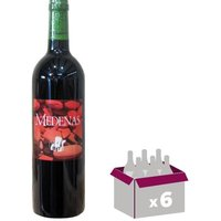 Cave de Pazac Medenas IGP Coteaux du Pont du Gard 2016 - Vin rouge x6
