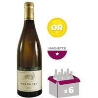 CHÂTEAU DE SANTENAY 2014 Mercurey - Blanc - 6x 75cl