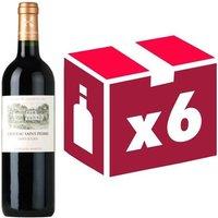 Château Saint Pierre Grand Vin de Bordeaux Saint Julien Cru Classé 2014 - Vin rouge