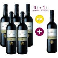 5 ACHETEES = 1 OFFERTE - Tutiac Blaye Côtes de Bordeaux 2014 - Vin rouge