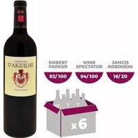 Château d'Aiguilhe Castillon Côtes de Bordeaux 2015 - Vin rouge