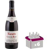 BROTTE 2015 Côtes du Rhône Esprit Barville Vin Rouge - 75 cl x6