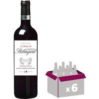 CHÂTEAU BELIGNARD 2015 Plaisir Bergerac - Rouge - 6x 75 cl