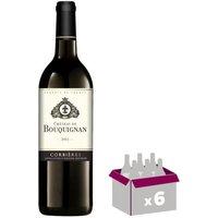 CHÂTEAU BOUQUIGNAN 2015 Vin de Corbieres - Rouge - 0,75 cl - AOP Corbières x 6